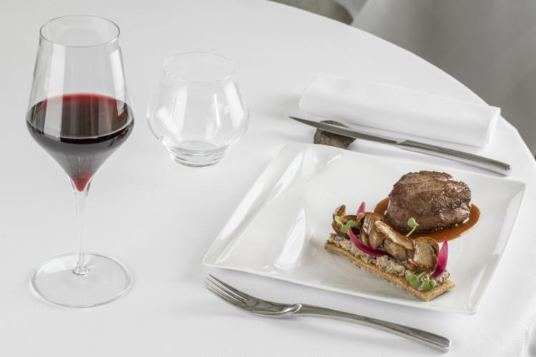 Filet mignon veau champignons