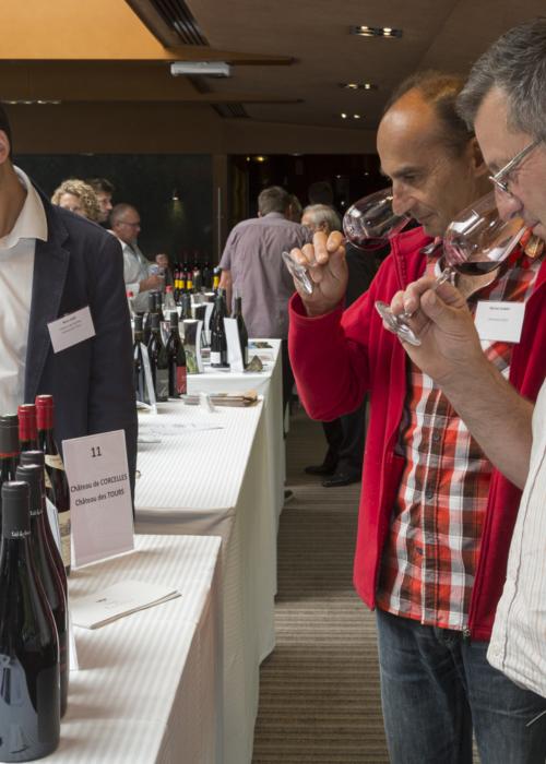 Analyse olfactive du vin